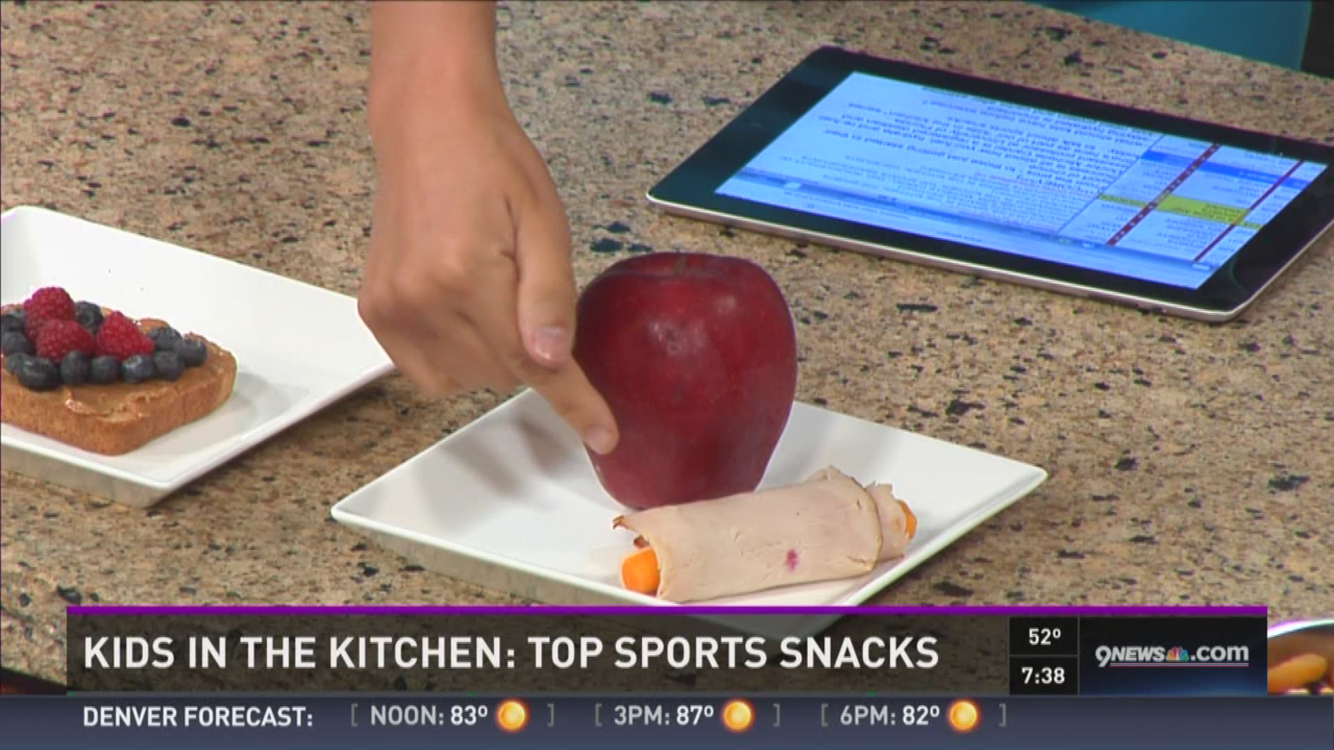 What kids should eat before, after exercise