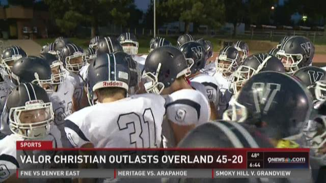 Valor Christian vs. Overland