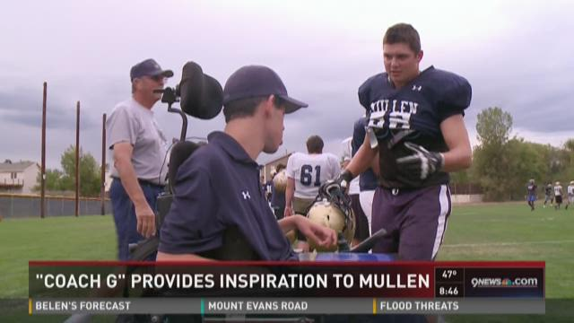 'Coach G' provides inspiration to Mullen football