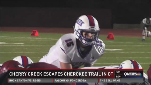 Cherry Creek vs. Cherokee Trail