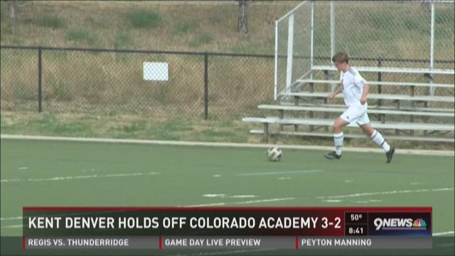 Soccer: Kent Denver vs. Colorado Academy