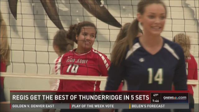 Volleyball: Regis vs. ThunderRidge