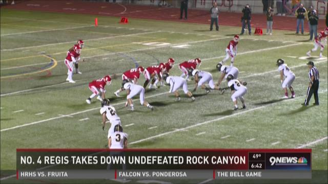 Regis Jesuit vs. Rock Canyon