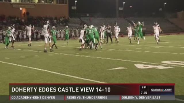 Doherty vs. Castle View