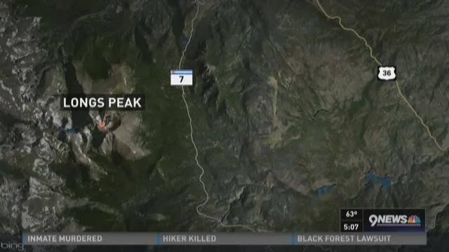 Man found dead on Longs Peak