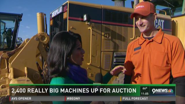 2,400 really big machines up for auction