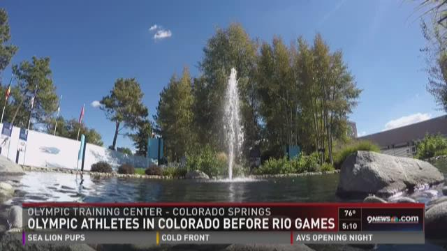 Olympic athletes are training in Colorado Springs