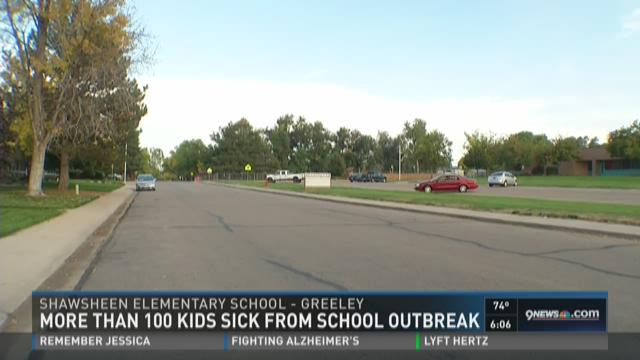 More than 100 kids get sick due to outbreak at school