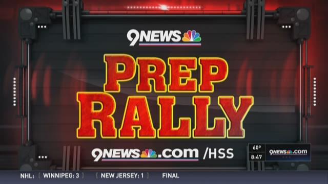 9News Saturday Prep Rally Oct. 10