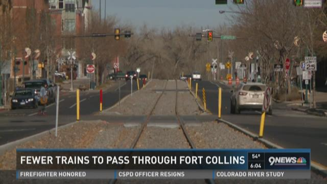 Fort Collins train crossing will soon see relief