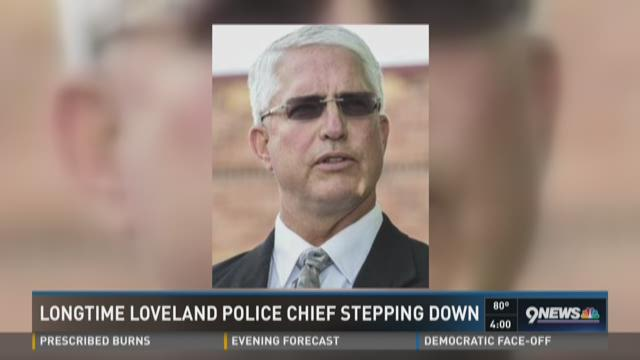 Longtime Loveland Police chief stepping down