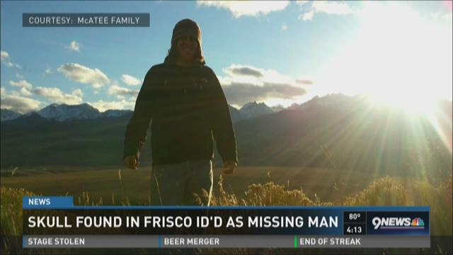 Skull found in Frisco ID'd as missing man