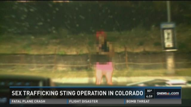Sex trafficking sting operation in Colorado