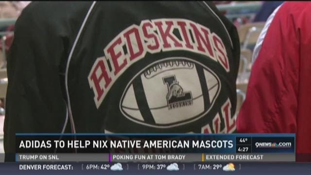 Adidas to help nix Native American mascots