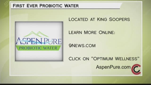 Optimum Wellness - Aspen Pure Probiotic Water - February 16, 2018