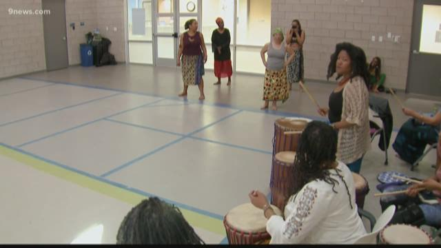Drum and dance ensemble brings women back to their African roots